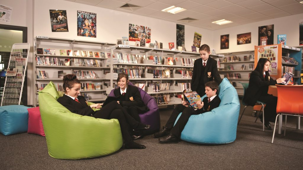 Are Bean Bags The Shape Of Things To Come In Primary School