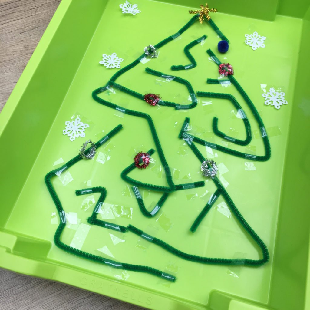 Christmas Tree Marble Maze Gratnells Learning Rooms